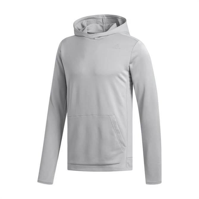 Adidas Own The Run Men's Hoodie - Grey