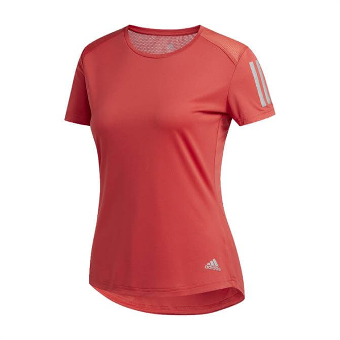 Adidas Own The Run Women's T-Shirt - Red