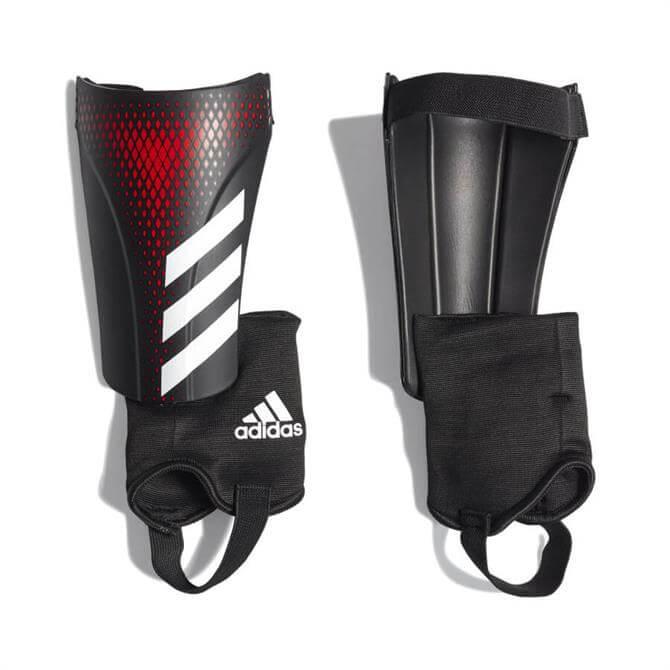Adidas Predator 20 Match Shinpads - Black/Red