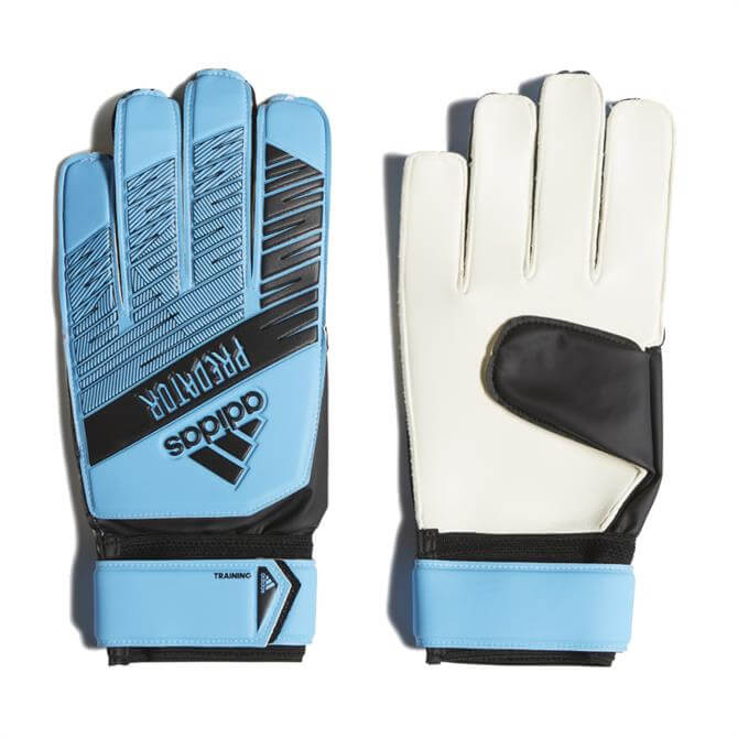 Adidas Predator Training Goalkeeper Gloves - Cyan/Black