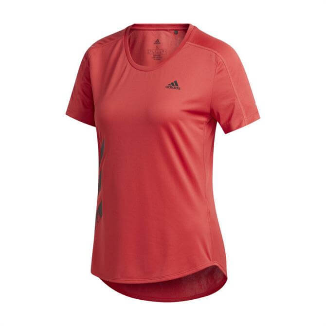 Adidas Run It Women's T-Shirt - Red