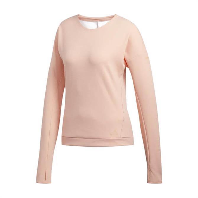 Adidas Supernova Run Women's Sweatshirt - Pink