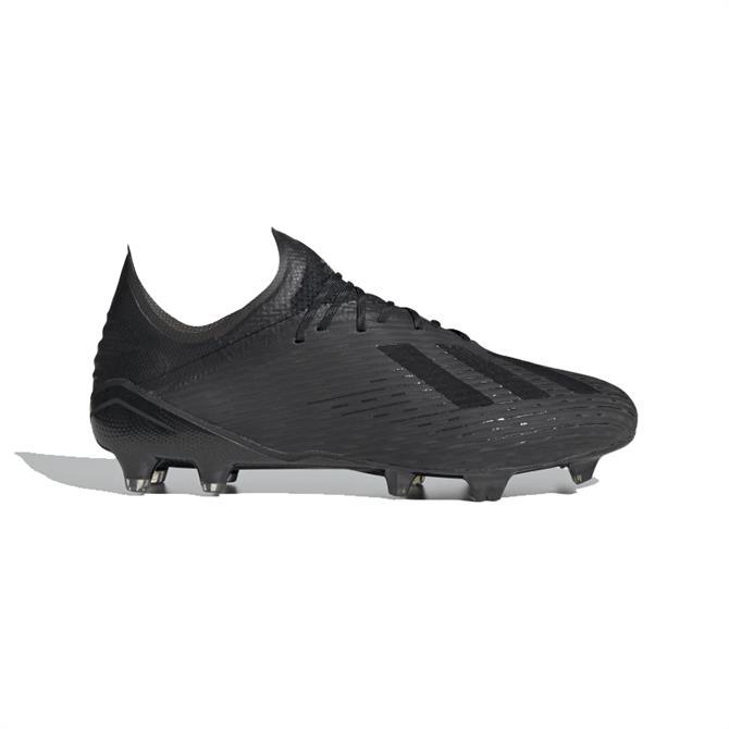 Adidas X 19.1 FG Football Boot - Black/Black