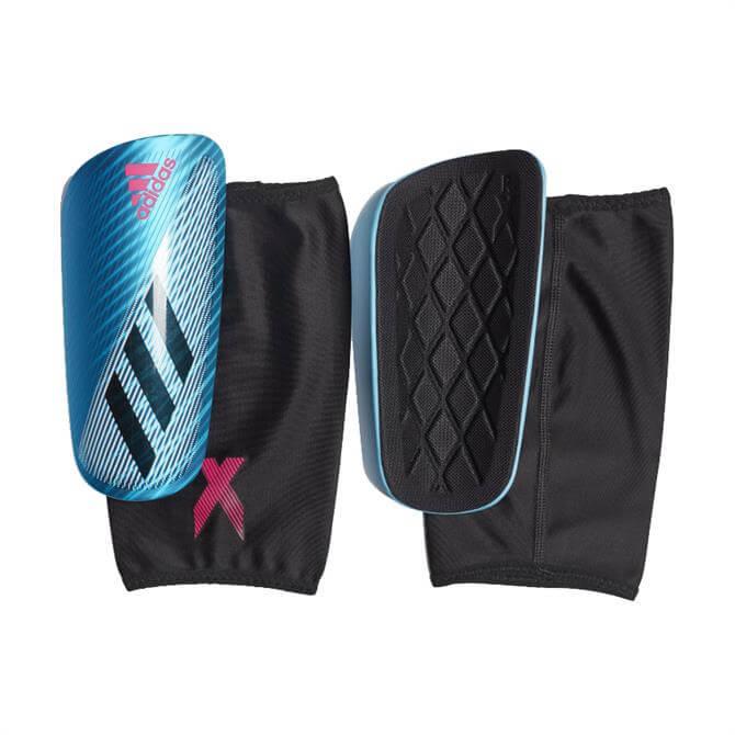Adidas X Pro Shin Pads - Blue