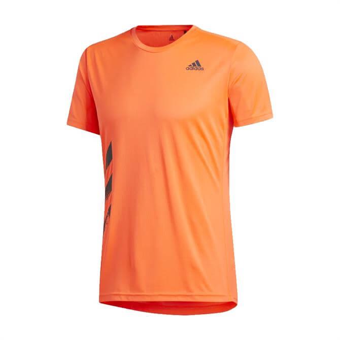 Adidas Run-It PB Men's T-Shirt - Orange