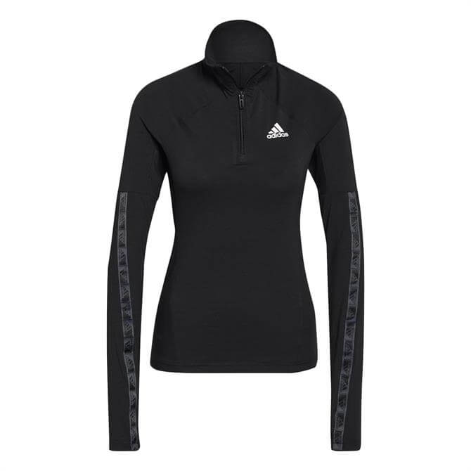 Adidas Designed 2 Move Cotton Touch 1/2-Zip Long-Sleeve