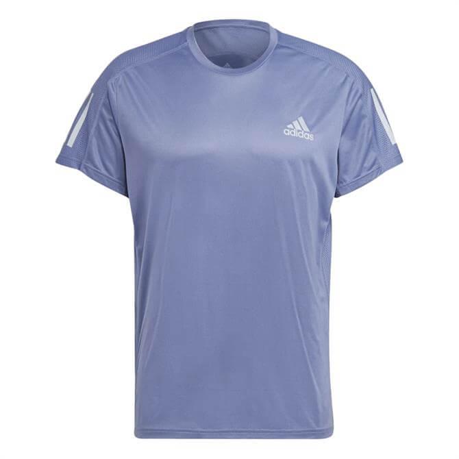 Adidas Own The Run T-Shirt - Orbit Violet