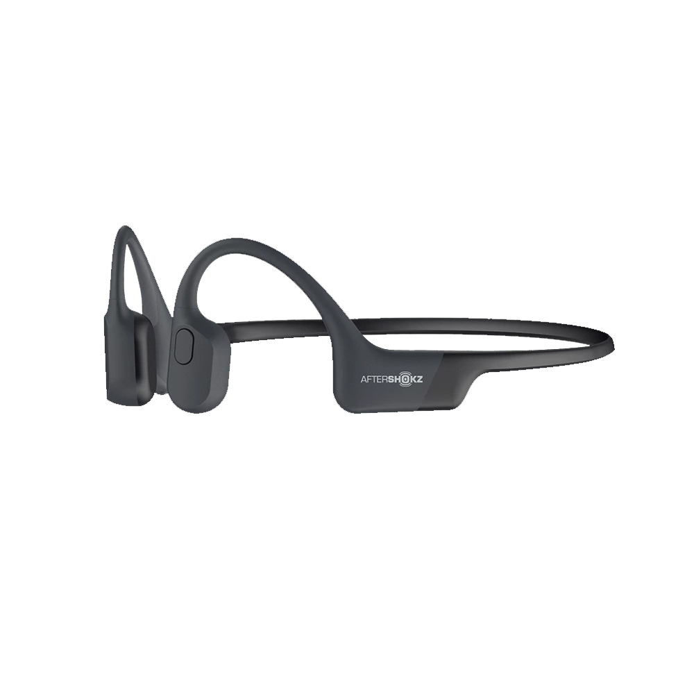 An image of Aftershokz Aeropex Headphones - One Size, BLACK