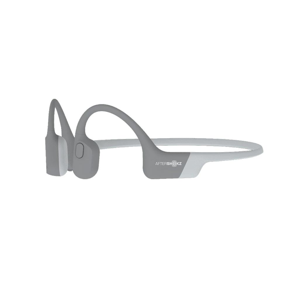 An image of Aftershokz Aeropex Headphones - One Size, GREY