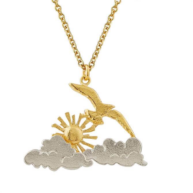 Alex Monroe Morning Sunrise Necklace
