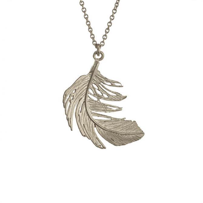 Alex Monroe Big Feather Necklace