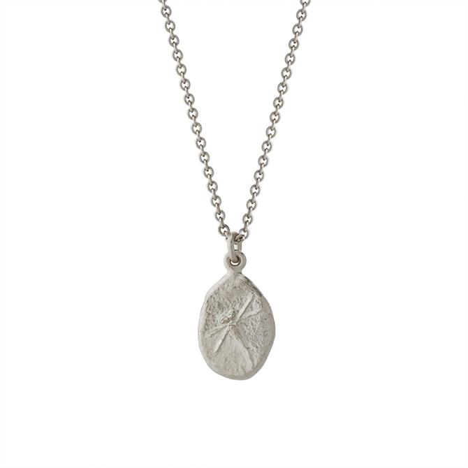 Alex Monroe Dragonfly Fossil Nugget Necklace
