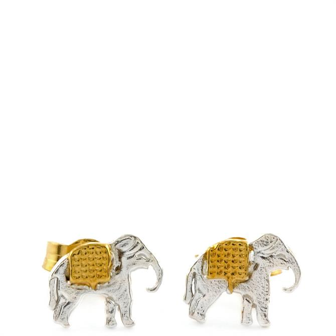 Alex Monroe Matching Elephants Stud Earrings