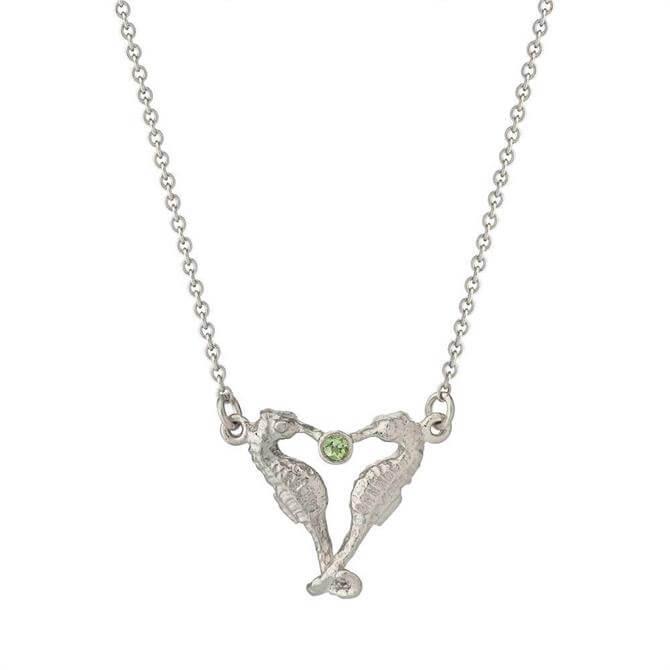 Alex Monroe Seahorse Companion Necklace