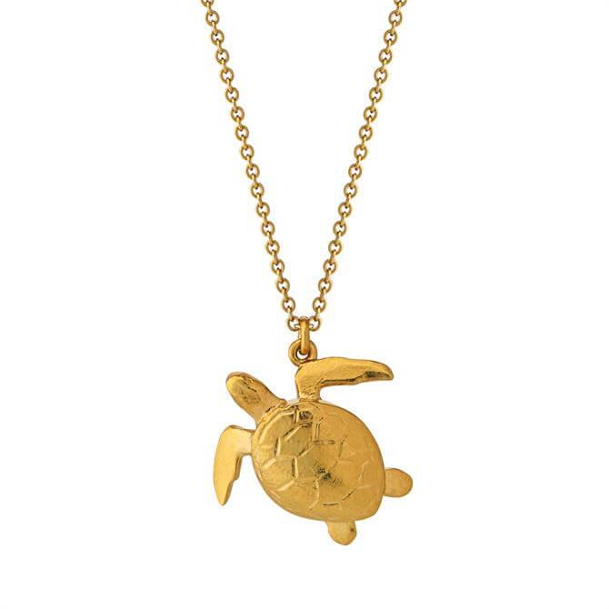 Alex Monroe Sea Turtle Necklace