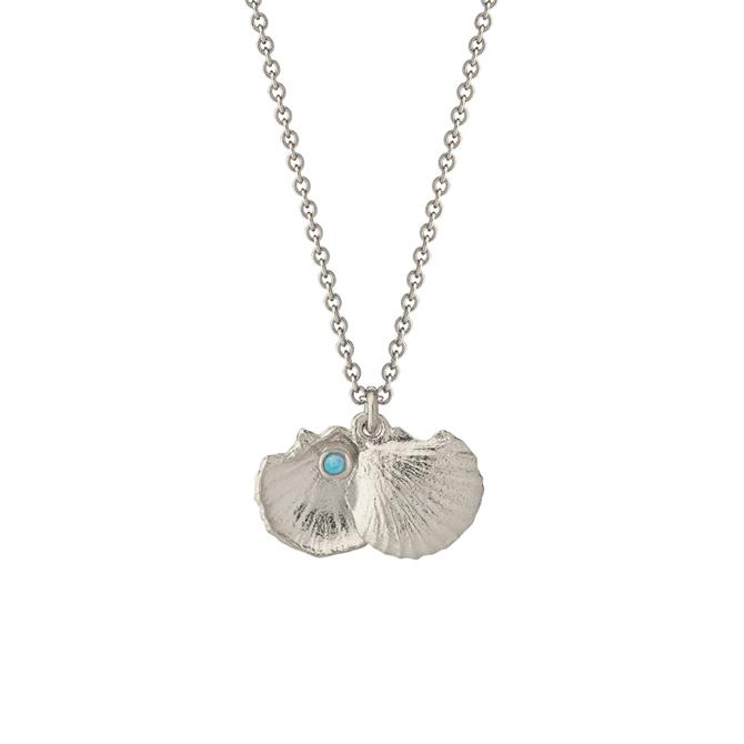 Alex Monroe Open Shell Opal Necklace