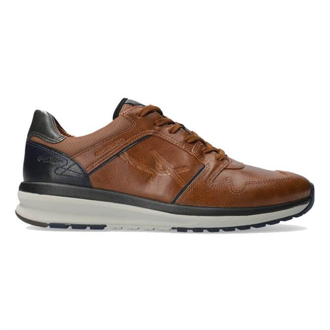 Allrounder El Paso Brown Leather Trainers