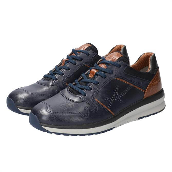Allrounder El Paso Blue Leather Trainers