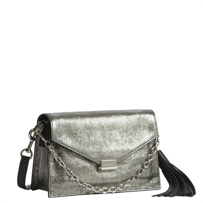 AllSaints Miki Lea Leather Crossbody Bag