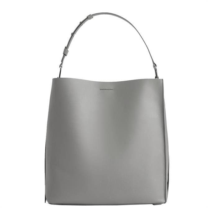 AllSaints Celadine North South Leather Tote Bag
