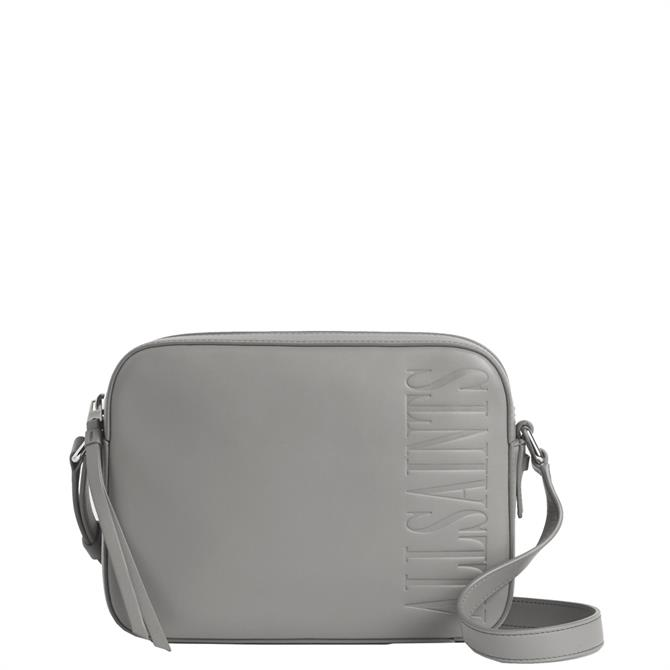 AllSaints Rhoda Square Leather Crossbody Bag