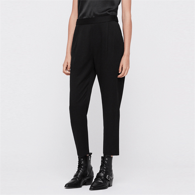 AllSaints Aleida Tapered Mid-Rise Trousers