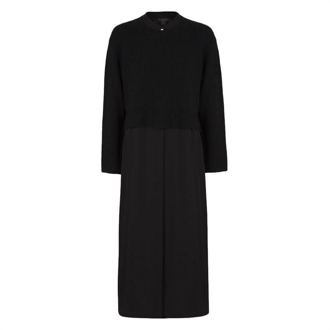 AllSaints Angelina 2-in-1 Dress