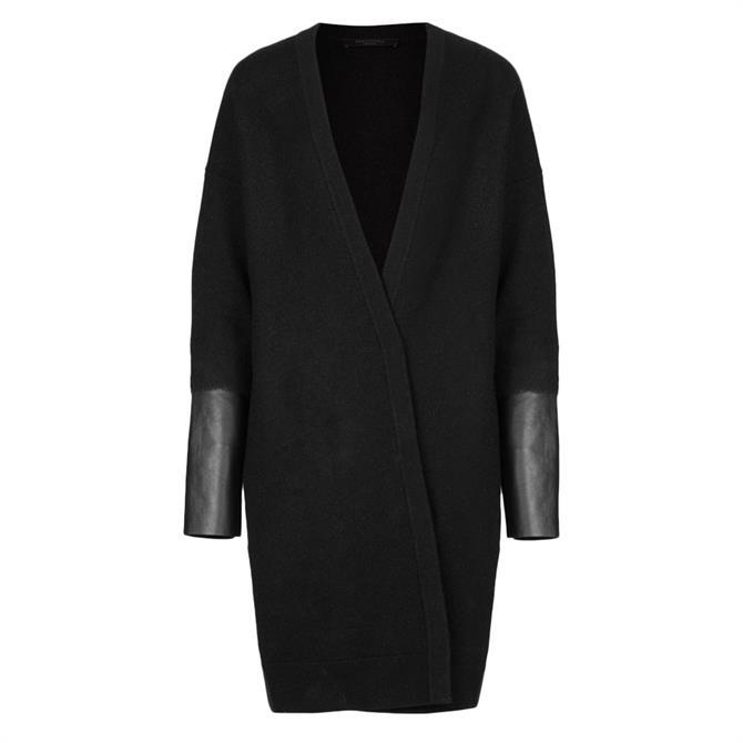 AllSaints Essy Merino Wool Cardigan