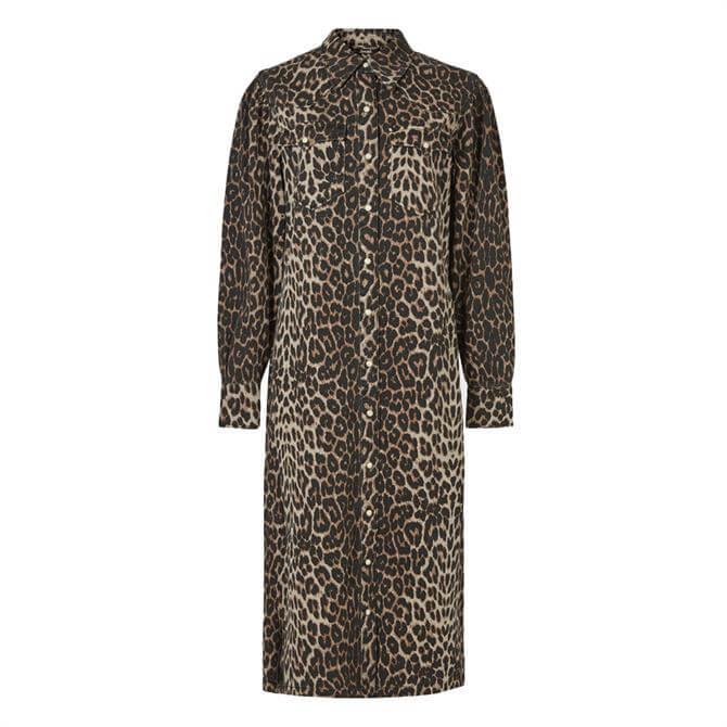 AllSaints Ezra Animal Dress