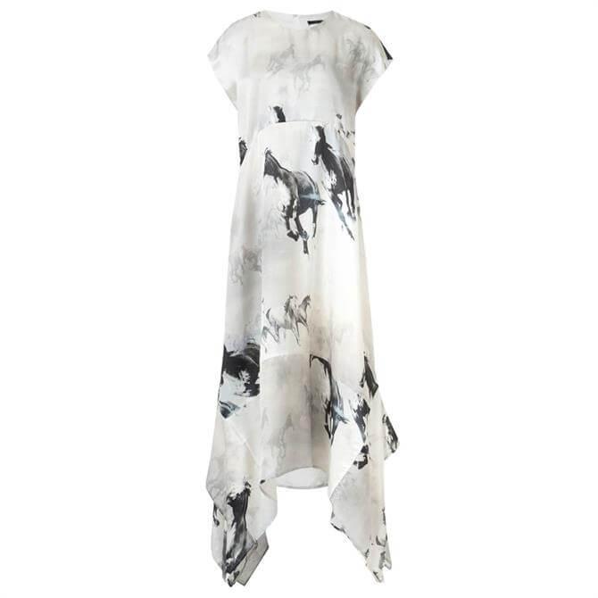 AllSaints Gianna Epoto Silk Blend Dress