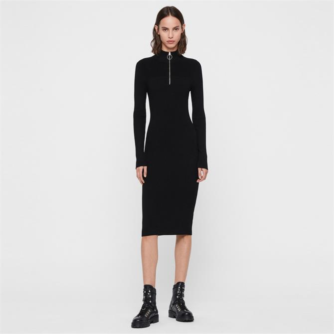 AllSaints Lacey Rib Dress