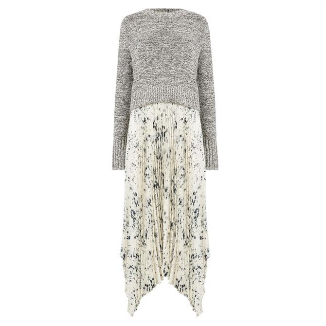 AllSaints Lerin Yermo 2-in-1 Dress