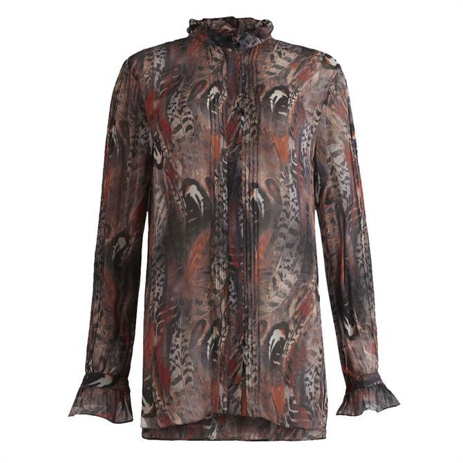 AllSaints Louise Fusion Shirt