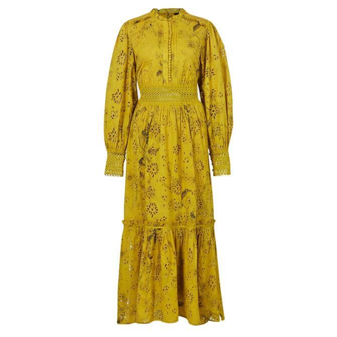 AllSaints Sia Demoir Broderie Dress