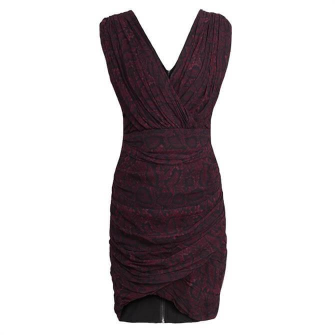 AllSaints Serena Stanza Dress