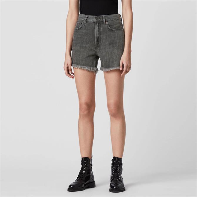 AllSaints Yanni Denim Shorts