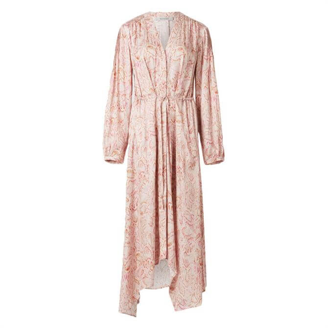AllSaints Yuni Vernus Print Dress