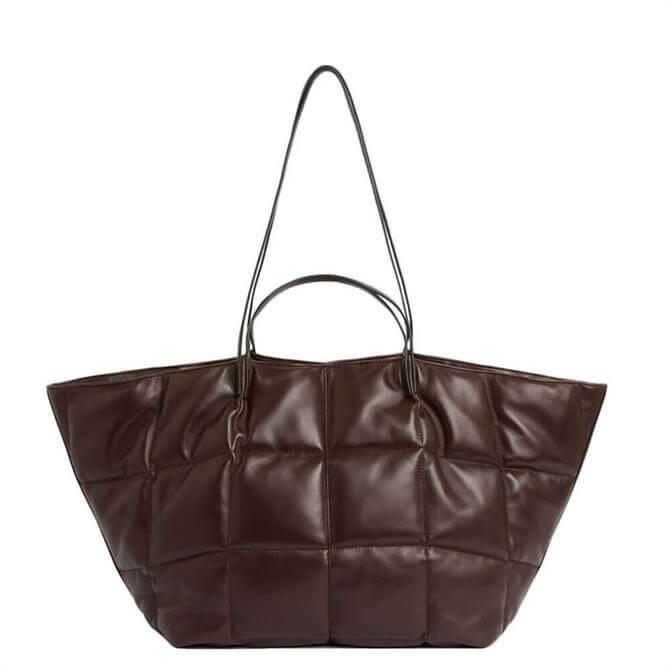 AllSaints Nadaline Quilt Tote Bag