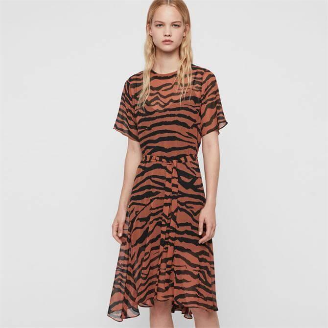 AllSaints Enki Zepyr Dress