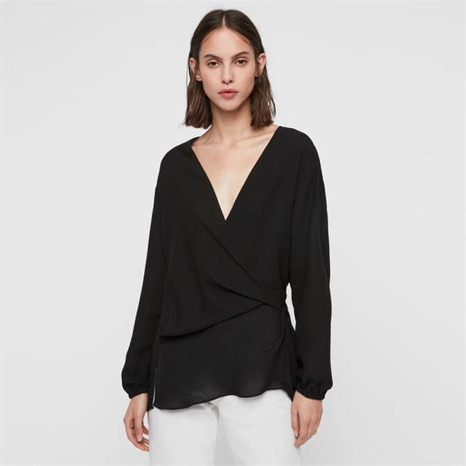 AllSaints Mia Sleeve Top