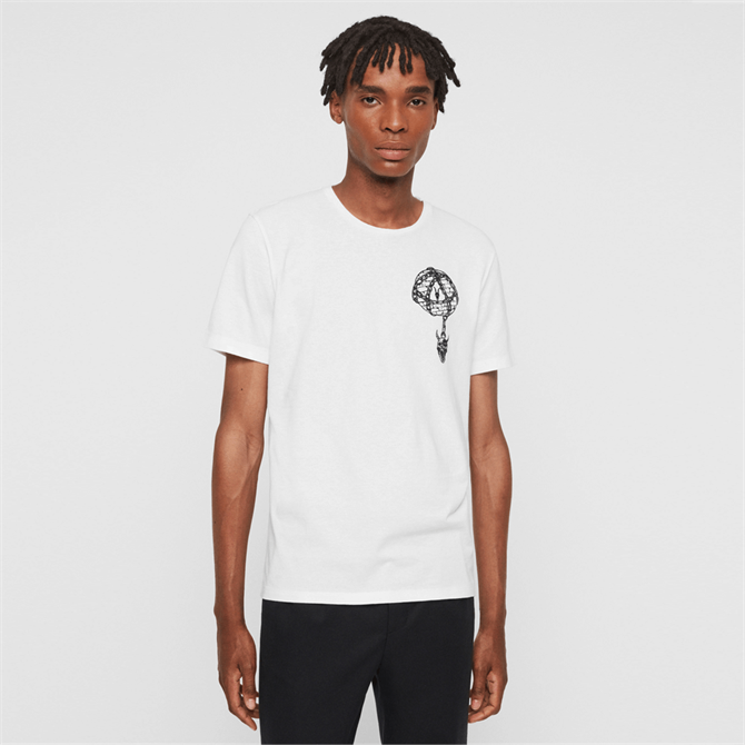 AllSaints Chained Crew T-Shirt