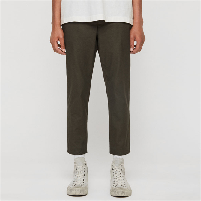 AllSaints Kato Cropped Slim Trousers