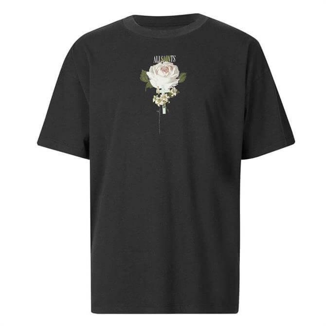 AllSaints Wreath Short Sleeve Crew Neck T-Shirt