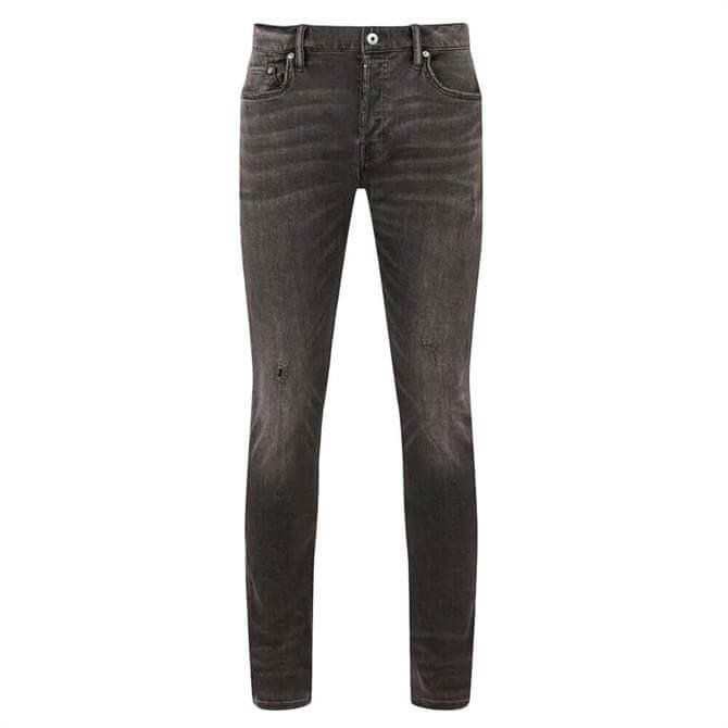AllSaints Cigarette Damaged Jeans