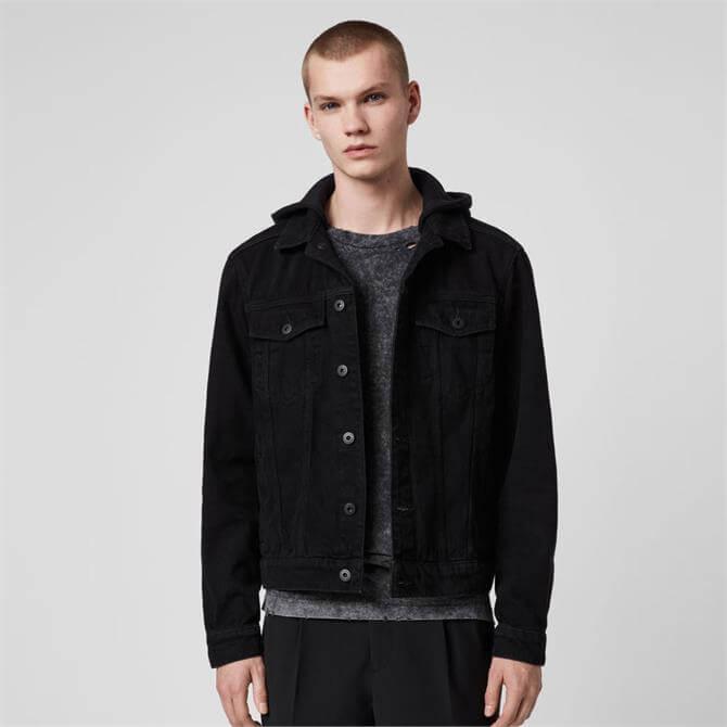 AllSaints Burnby Denim Jacket