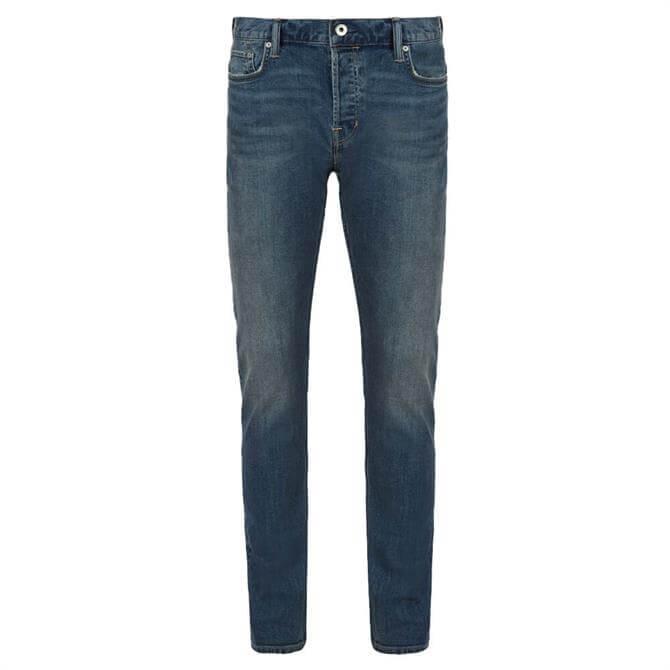 AllSaints Rex Washed Indigo Slim Jeans