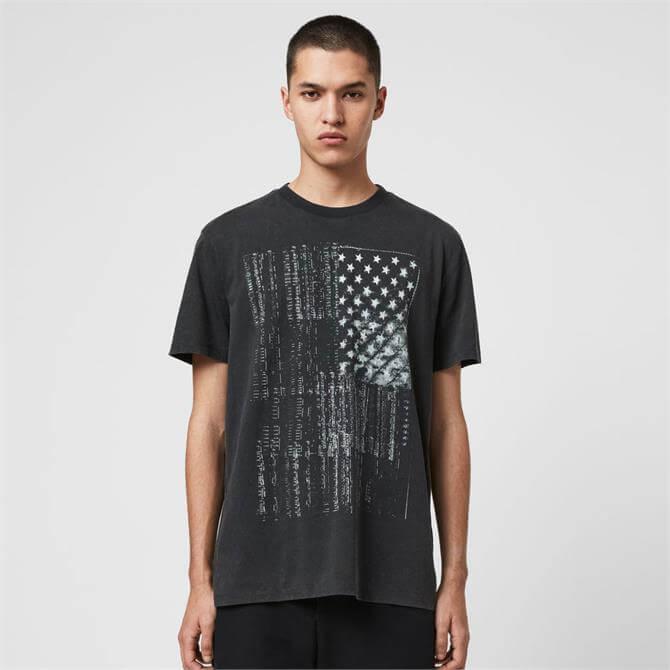 AllSaints Star of Bethlehem Crew T-Shirt