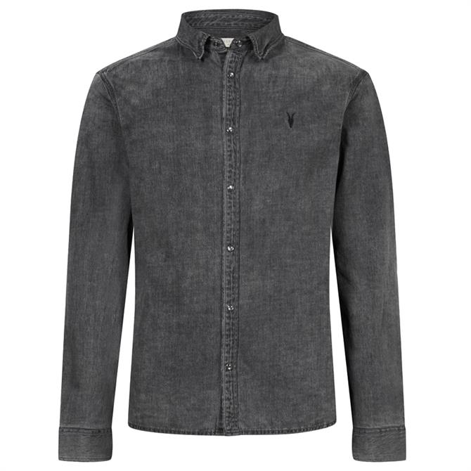 AllSaints Burlington Denim Shirt