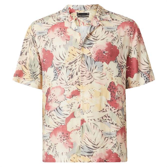 AllSaints Wailea Floral Shirt