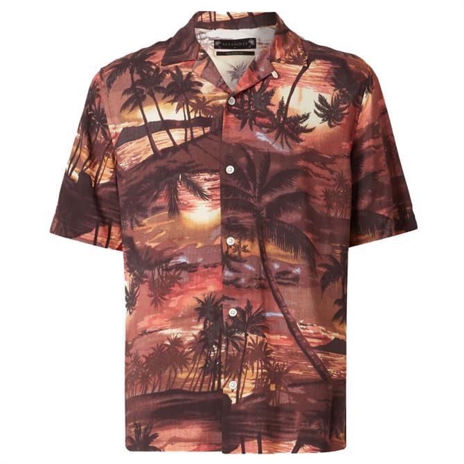 AllSaints Sunbeam Short Sleeved Shirt